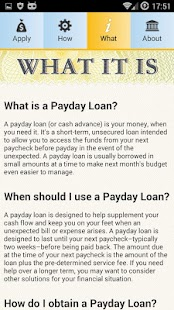 Payday Loans & Cash Advance - screenshot thumbnail