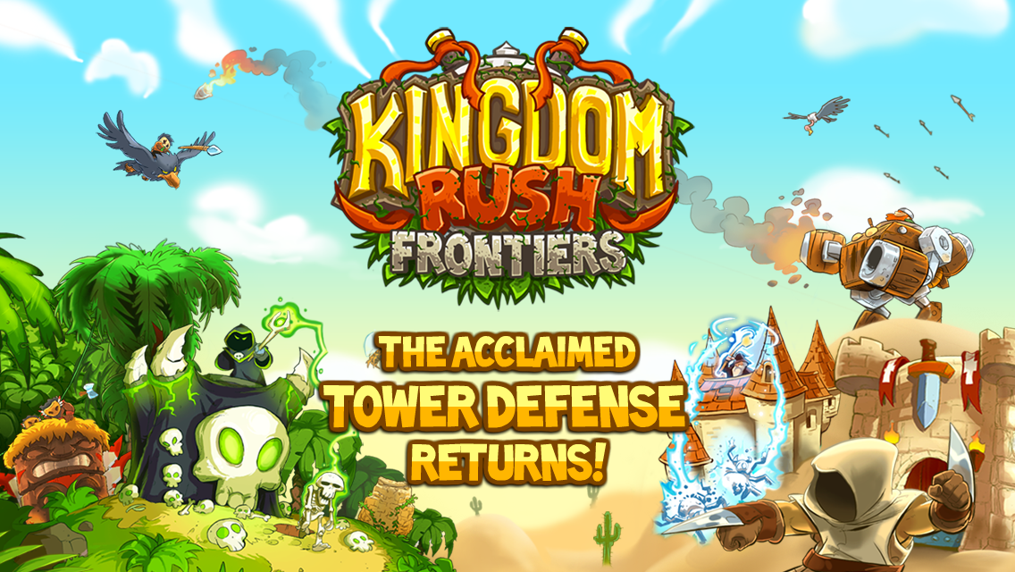 Kingdom Rush Frontiers– captură de ecran