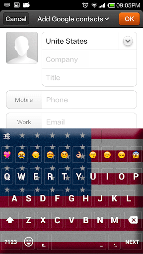 【免費個人化App】United States Emoji Keyboard-APP點子