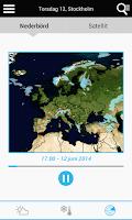 Screenshot of Weather for Sweden