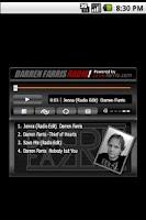 Screenshot of Darren Farris Radio
