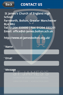 St James's C of E High School- screenshot thumbnail