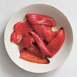 Smoky Red Peppers with Garlic (Közlenmiş Kirmizi Biber)