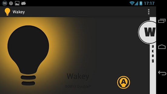 Wakey: keep your screen awake - screenshot thumbnail