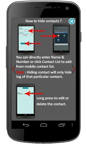 Vault-Hide Pics Video SMS Log