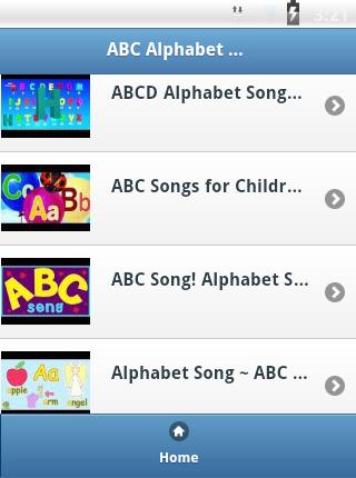 ABC Alphabet Kids Songs
