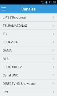 【免費媒體與影片App】Televisión de Ecuador Gratis-APP點子