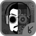 HD cyborg man_ATOM theme