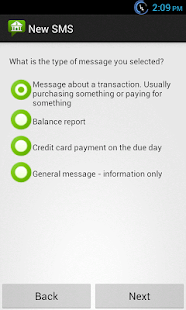 Bank SMS- screenshot thumbnail
