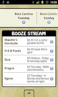 Screenshot of BoozeHound