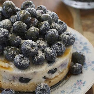 Blueberry Coconut Cake [Vegan].