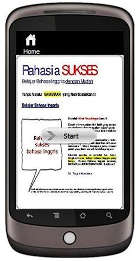 Rahasia Sukses Bahasa Inggris
