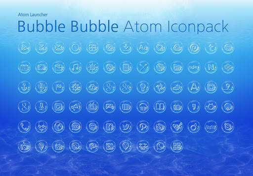 Bubble Bubble Atom Iconpack