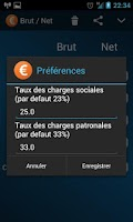 Screenshot of Salaire Brut Net