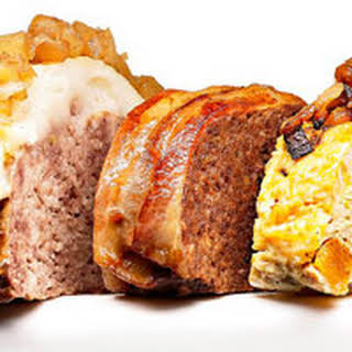 Bacon-Wrapped Beef Meatloaf.