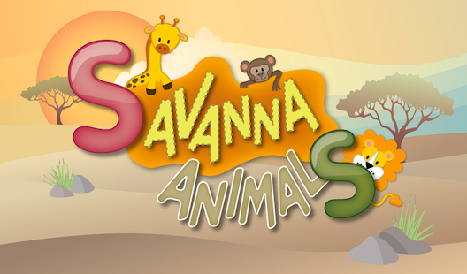 Savanna Animals- screenshot thumbnail