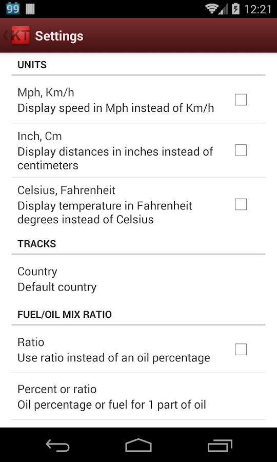 Karting Tools - screenshot
