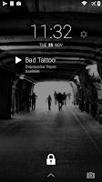 Screenshot of DashClock Music Extension