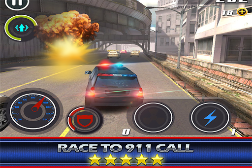 Mad Skills Police 3D Chase Car