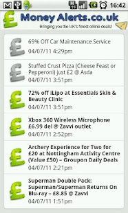 Deals, Coupons & Gifts - screenshot thumbnail