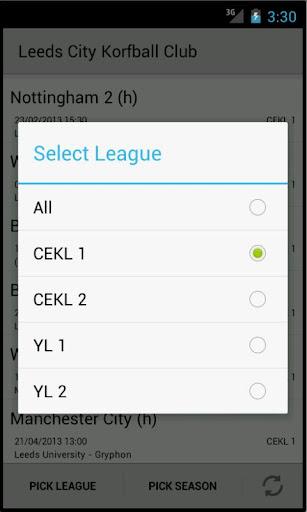 【免費運動App】Leeds City Korfball Club-APP點子