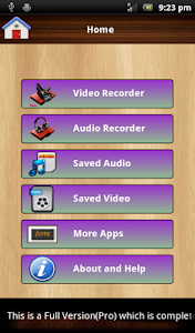 Audio and Video Recorder Lite screenshot 9