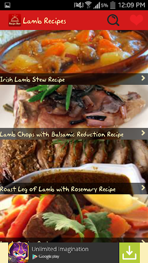 Lamb Recipes Free
