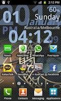 Screenshot of World Clock Live
