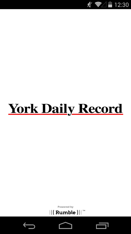 York Daily Record - screenshot