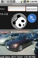 Screenshot of Car Tracker