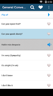 Learn Spanish Phrasebook Pro- screenshot thumbnail