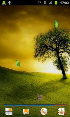 Tree Live Wallpaper - screenshot