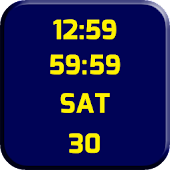 Clock Maize and Blue LWP