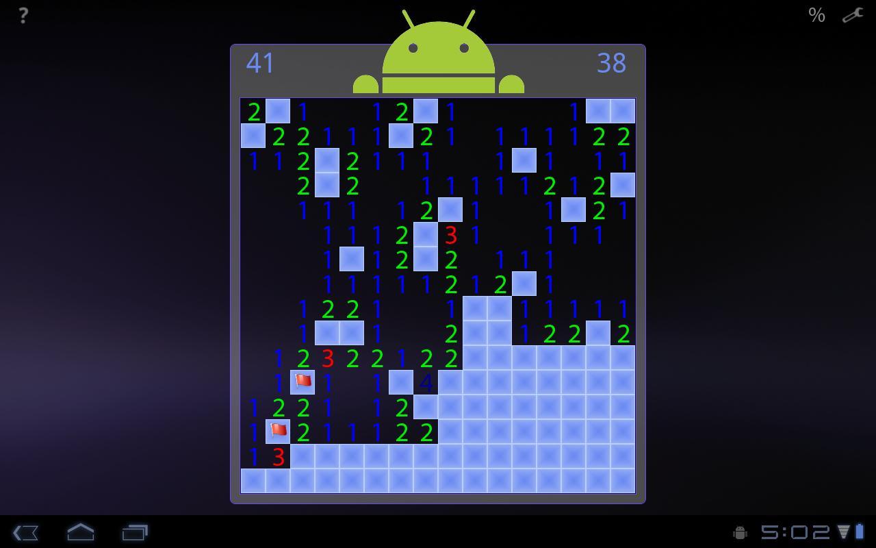 Minesweeper For Honeycomb- screenshot