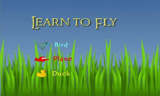 Cute Bird n' Duck Learn to Fly
