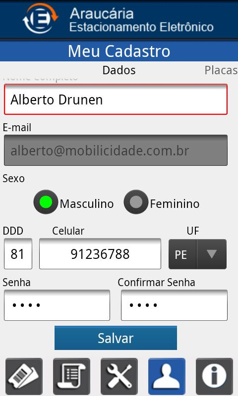 Araucária Estacionamento- screenshot