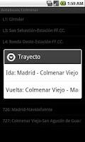 Screenshot of Autobuses Sierra de Madrid
