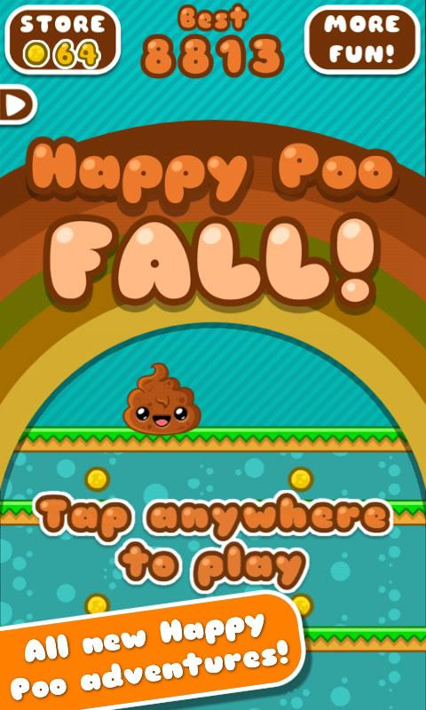Happy Poo Fall - screenshot