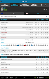 The ESPNcricinfo Cricket App Screenshot 17