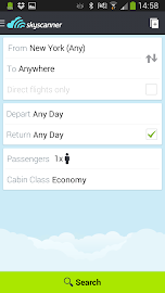 Skyscanner - All Flights! Screenshot 1