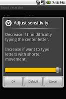 Screenshot of Flit Keyboard License
