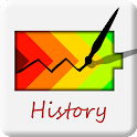 Battery history icon