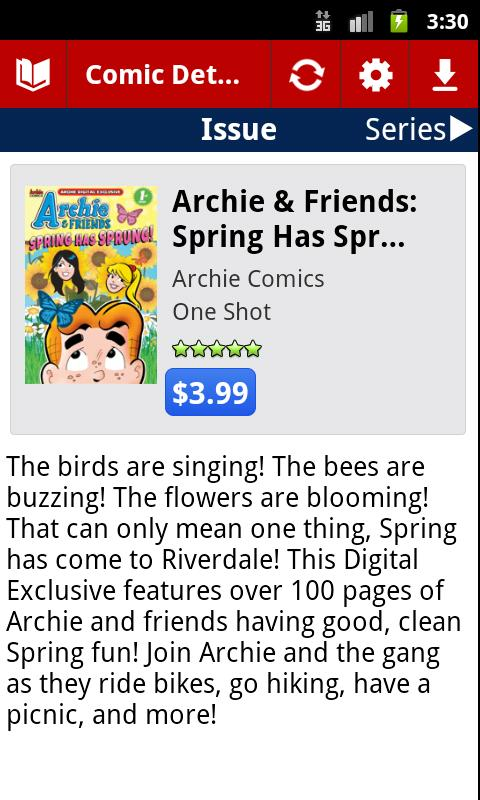 Archie Comics - screenshot