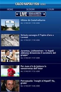 Calcio Napoli 1926 - screenshot thumbnail