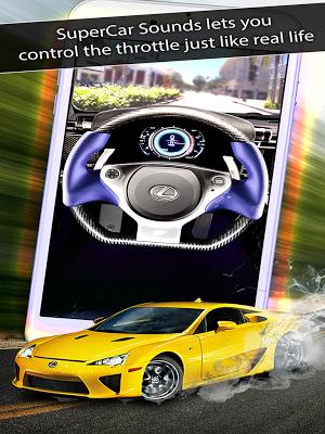 5 SuperCar Sounds App screenshot