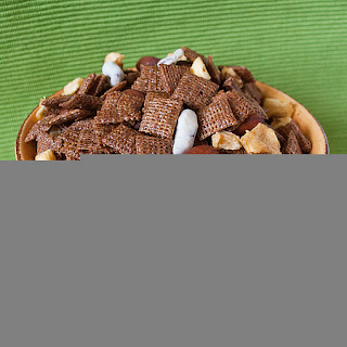 Cinnamon-Apple Chex Mix.