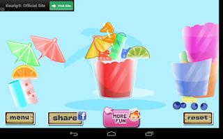 Screenshot of Cool Juice Designer, Fruity!