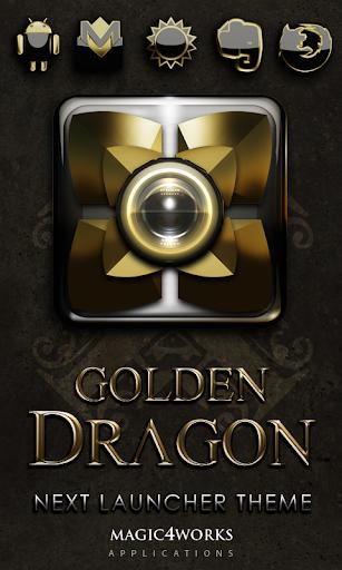 Next Launcher Theme G Dragon