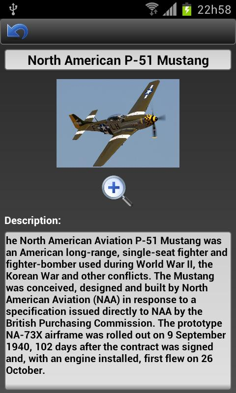 WWII - Fighters & Bombers - screenshot