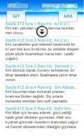 Screenshot of Hadisler Deryası